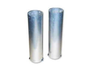 Bodenhülsen für runde Pfosten 83 mm