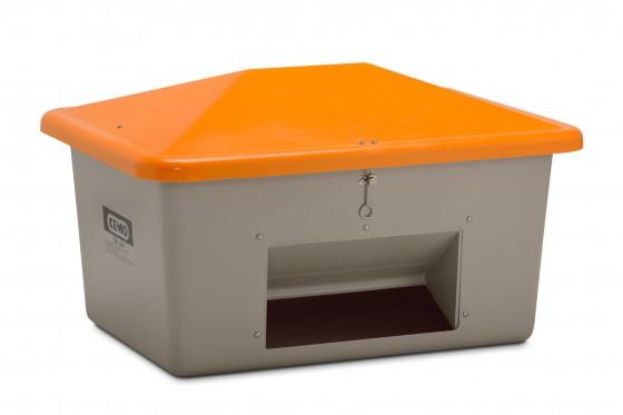 Ziegelmehl-Box m. Entnahmeöffnung 0,7 to 134x99x78 / 550 ltr.
