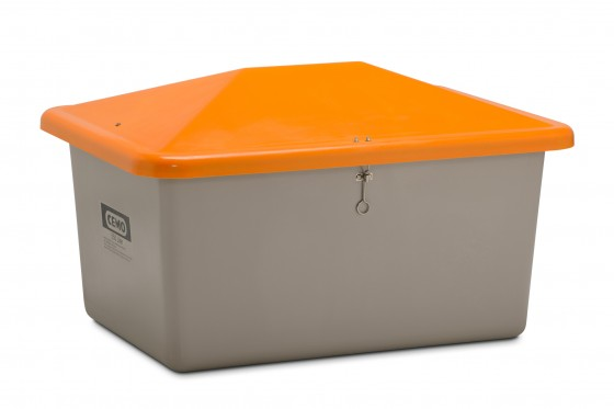 Ziegelmehl-Box o. Entnahmeöffnung 1,5 to