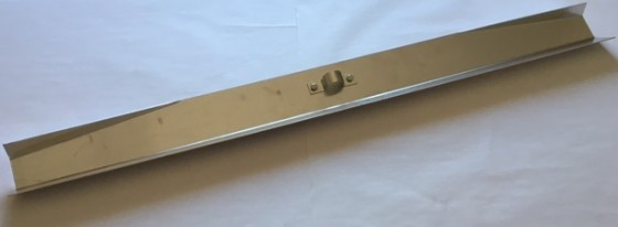 Ziegelmehlschieber 100 cm