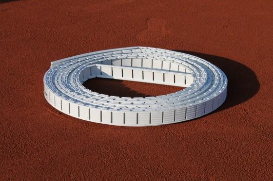 Ideala 4 cm Grundlinie 10,97 m, weiß