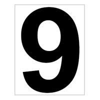 Schild Platz-Ziffer Nr. 9