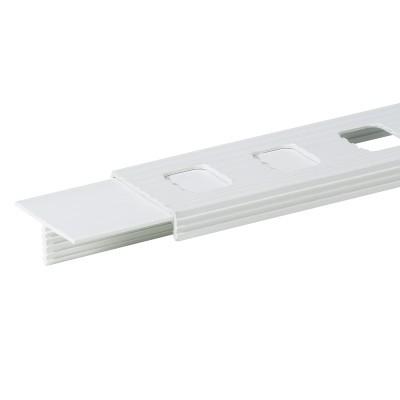 Tigerband - Linie, 5 cm, weiß, Garnitur